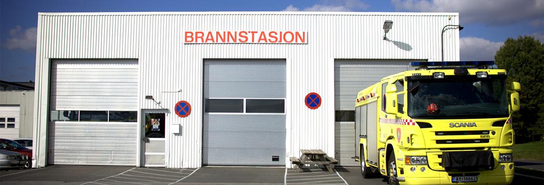 Besøke Brannstasjon