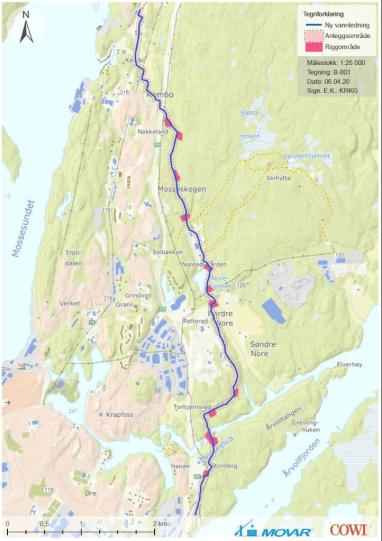Skal bygge 9 kilometer hovedvannledning